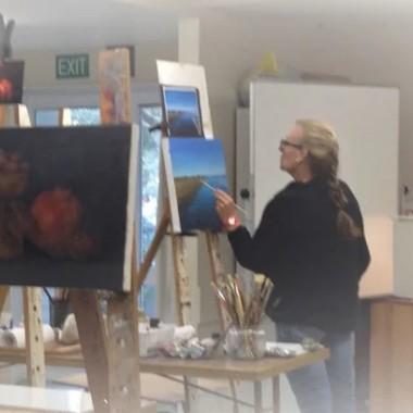 art classes by Mehrdad Tahan