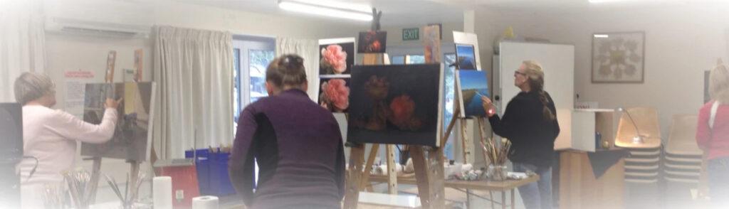 art classes in Christchurch by Mehrdad Tahan